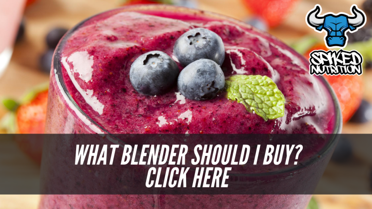 best blender on the marker by Spiked Nutrition